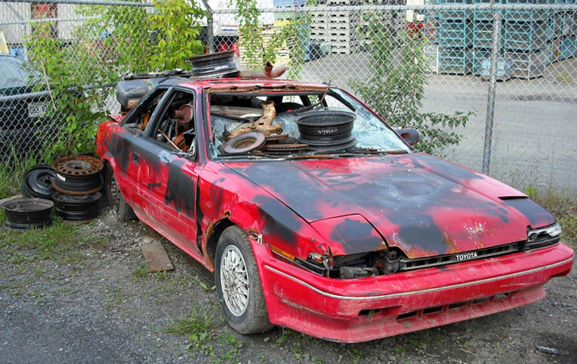 scrap my car north london